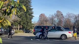 Antifa Militant SHOT AT In Streets of Washington