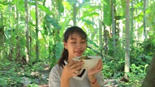 Yummy cooking curry duck recipe _ Cooking skills _ Khmer Survival Skills