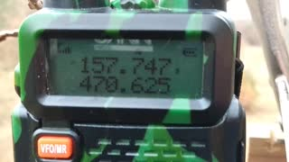 Ham radio transmission