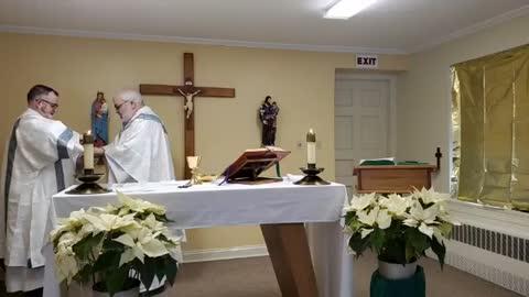 Mass on February 11, 2021