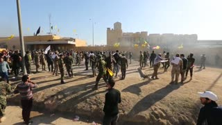 Refuerzan seguridad en Embajada de EE.UU. en Bagdad
