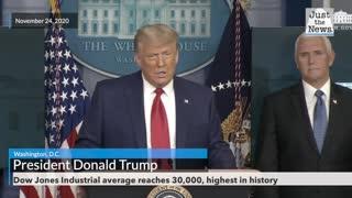 President Trump remarks on Stock Market