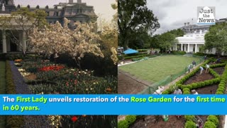 Rose Garden - Melania Trump updates it for the first time in 60 years
