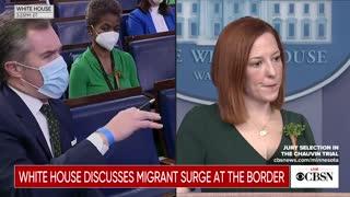 Psaki Was Cornered On Biden's Border Messaging—Her Response Will Make You Miss Trump
