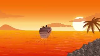 Cruise Ship Tropical