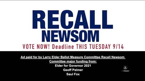 Gavin Newsom has his own rules: new recall ad