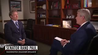 Rand Paul Calls Out Fauci over his lies