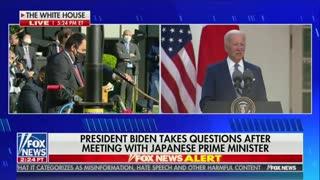 Joe Biden comments on gun control