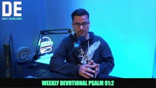 Psalm 92:2 Devo With Pastor Anthony