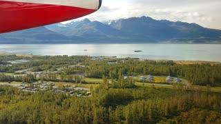 Take off from Valdez