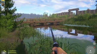 Russian Fishing 4 Old Burg Lake Grass Crap 5.457 Kg