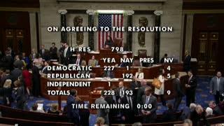 Luz verde a entrega de cargos contra Trump en Senado