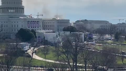 Smoke seen above the Capitol complex in DC | The Washington Pundit