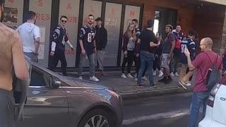 Brawl Breaks Out in Boston