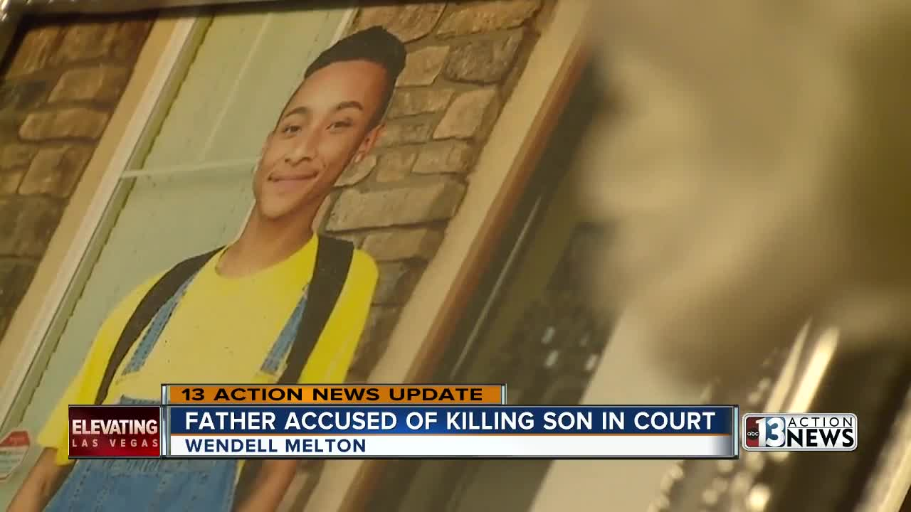 Henderson man accused of killing son appears in court