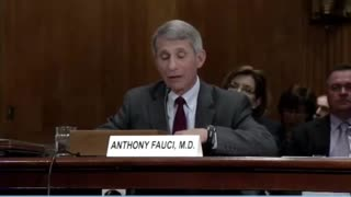 Dr. Fauci Talks To Congress About The Risks And Benefits Of Gain Of Function Research (2012)