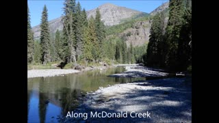 Montana, with Glacier Nat. Park