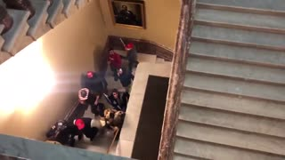 Protesters Are Inside The Capitol Building | The Washington Pundit