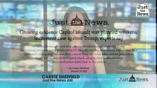 Growing evidence Capitol assault was planned weakens incitement case against Trump, experts say