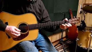 Guitar Lesson 6 - Picking Exercise for 1 to 5 chord
