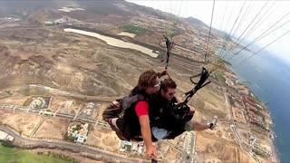 June 2013   Paragliding Tenerife