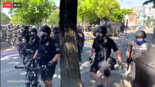 More violent protests in Seattle, riot declared as people clash with police
