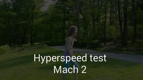 Mach speed effect