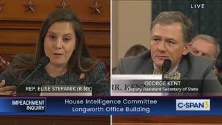 Elise Stefanik question witness at impeachment hearing