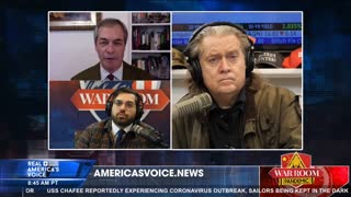 Steve Bannon interviews Nigel Farage