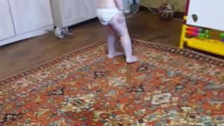 baby dancing to a fun song