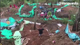 Autoridades desalojan predios invadidos en los Cerros Orientales de Bucaramanga