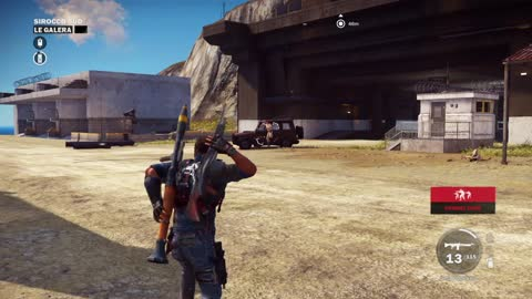 Just Cause 3 Demo Gameplay part 36 Sirocco Sud : Le Garlera Car Blowing
