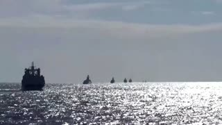 Russia, China warships hold first joint patrols in Pacific