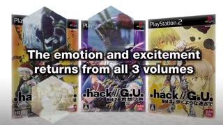 .Hack G.U. Last Recode Official Launch Trailer
