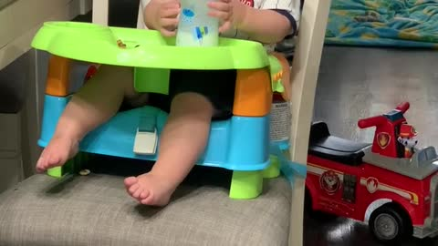Baby Caught Laughing Hysterically