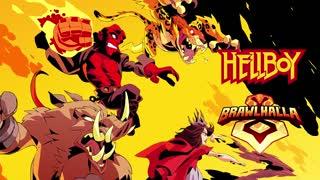 Brawlhalla - Hellboy Crossover Reveal Trailer