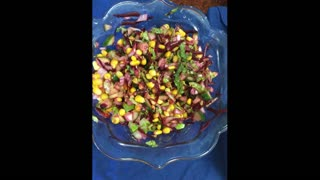 Corn, cucumber,beetroot salad// Nutritious salad//simple and easy salad recipe/