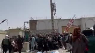 Taliban BEATS Crowd with Whips...!!!