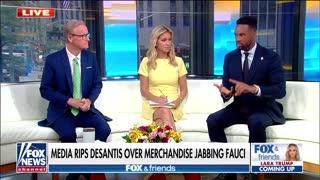 Media melts down over DeSantis' anti-Fauci merchandise