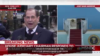Jerry Nadler lies, claims Bill Barr decision made in under 48 hours