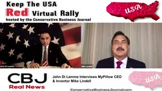Mike Lindell, My Pillow C.E.O. shares about his story from Crack Addict to CEO