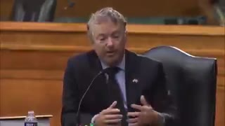 NEW - Anthony Blinken can't answer Rand Paul on if Biden droned an aid worker or a terrorist.