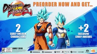 Dragon Ball FighterZ Official SSGSS Goku and Vegeta Gameplay Trailer