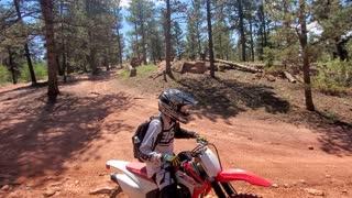 Colorado Motorcycle trail ride
