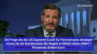 Ted Cruz über den Pennsylvania Fall für den Supreme Court