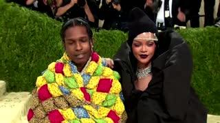 Rihanna and A$AP Rocky rule the Met Gala