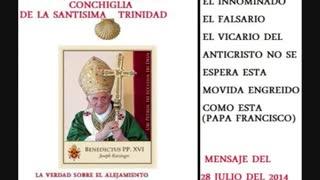 Mensaje de jesus a conchiglia - el falsario papa francisco