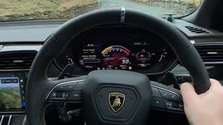 Lamborghini Urus || Drive through beautiful lands ....