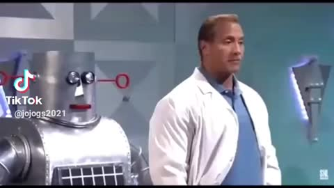 The Rock is a sick man