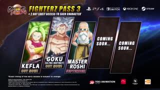 Dragon Ball FighterZ - Master Roshi Announcement Trailer